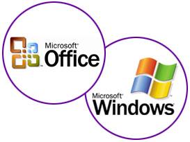 Microsoft Office & Windows Logo
